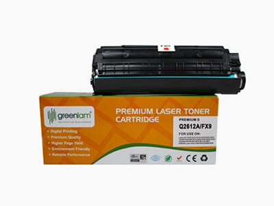 Premium Toner Cartridge Model Q2612A